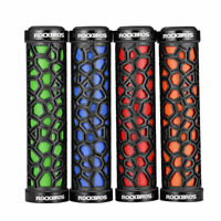 ROCKBROS Bike MTB Rubber Bicycle Handlebar Lock-on Grips Fixed Gear Fixie Grips