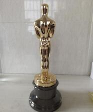 Height 34cm Oscars Statue ornaments Golden-plated metal 1:1 Oscar Awards New