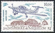 St Pierre & Miquelon 1991 Planes/Piper/AIRCRAFT/AVIATION/transport 1 V (n30577)