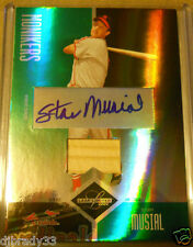 STAN MUSIAL 2004 LEAF LIMITED MONIKERS AUTOGRAPHED GAME-USED BAT /50