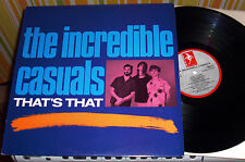 THE INCREDIBLE CASUALS That's That DEMON NM Joey Stampinato UK Crazy Girl