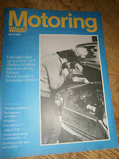 Vintage Motoring Which? magazine April 1980 Jaguar XJ6,