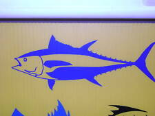 GIANT BLUEFIN  TUNA DECAL FISHING sticker BOATING penn