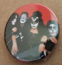 Kiss '74  1.5 Inch badge Gene Simmons Paul Stanley