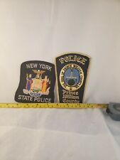 Lot#11Z9: 2-Police Patches