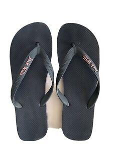 Jack Wills Navy Flip Flops - Size 6