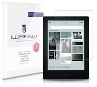 iLLumiShield HD Screen Protector w Anti-Bubble/Print 3x for Kobo Aura HD