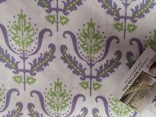 Gutermann Notting hill purple/white baroque 100%cotton, half metre, free p&p,