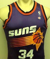 Vintage Phoenix Suns Charles Barkley Men's Champion Jersey 36 NBA