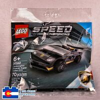 Brand New LEGO Polybag Speed Champions #30342 LAMBORGHINI Huracan Super Trofeo