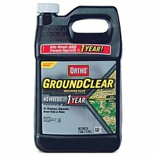 GroundClear Vegetation Killer Concentrate Great for Driveways, Patios - 1 Gallon