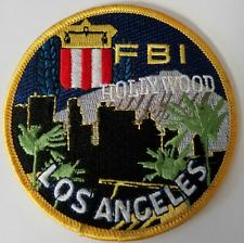 FBI Federal Bureau of Investigation Los Angeles Hollywood Cloth Patch