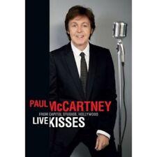 PAUL MCCARTNEY - LIVE KISSES  DVD  INTERNATIONAL POP  NEW!