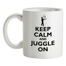 Keep Calm And Giocolare Su Mug - Circo - Giocoliere - Giocoleria - Entertainer -