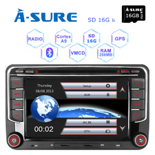 "VW Golf Jetta Passat Caddy 7""Car Radio Stereo DVD Player GPS Bluetooth Headunit"