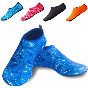 Mens Womens Quick Dry Water Shoes Aqua Socks Beach Swim Non Slip Wetsuit Size