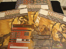 DARK SUN ENCOUNTERS FURY OF THE WASTEWALKER 1-3 D&D TSR COMPLETE & SEALED