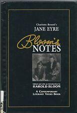 Bloom's Notes: Charlotte Bronte's Jane Eyre Bloom's Notes: 20th Century Literatu