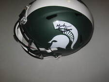 Mark Dantonio Michigan State Spartans Signed Matte Football Revolution Helmet