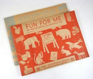 Fun For Me & More Fun For Me Practice Books for Everyday Fun/Friends Hahn ©1935
