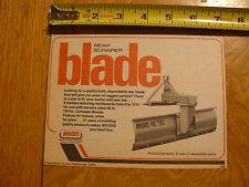PROGRESSIVE FARMER SEPT 1978 - AD - WOODS REAR SCRAPER TRACTOR BLADE RB 700