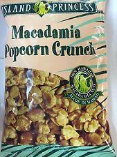 Island Princess Macadamia Caramel Popcorn Crunch 5oz (6 pack)