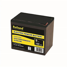 9 Volt Electric Fencer Battery 150Ah Rutland British Company High Quailty