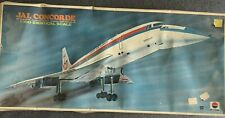 Nitto JAL (Japan Airlines) Concorde - 1/100 Scale - Vintage 1970 Kit