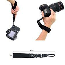 Leather Hand Wrist Lanyard Strap For Canon Nikon Fuji Sony Pentax Olympus Camera