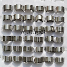 Wholesale Bulk 10X Silver Cross Christian Prayer Stainless Steel Man's ring FREE