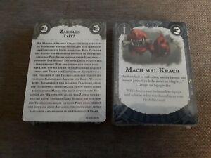 Zarbags Gitz Karten Warhammer Underworlds ***eingeschweißt***