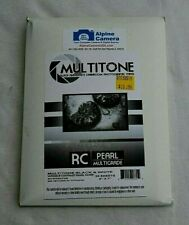 """Multigrade Black & White Rc Paper (Pearl, 5 x 7"""", 25 Sheets) Multitone Photo"""