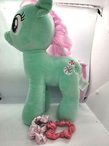 "Build A Bear BAB My Little Pony MLP MINTY 16"" Stuffed Plush Green Peppermint 💖"