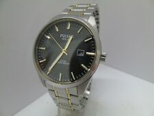 PULSAR by SEIKO AS32-X013 SOLAR MENS WATCH  *USED/FINE* RRP £169.99