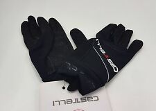 Castelli Winter Men's Cycling Super Nano Full Finger Gloves Black Size XXL