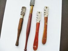 Four Vintage Glass Cutters 2 liberschnitt - 1 Japanese And 1 Other