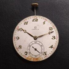 Vintage OMEGA Pocket Watch Movement. Working