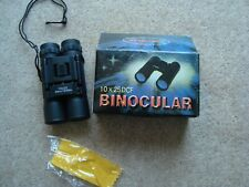 Binoculars, new, boxed, 10x25  DCF, with case.