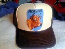 JERSEY MILK COW CATTLE FARM HAT CAP