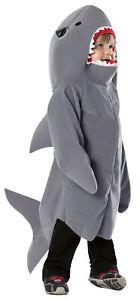 TODDLERS SHARK OCEAN ANIMAL HALLOWEEN COSTUME 3T-4T GC950434