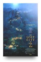 James Gray Signed 12x8 Photo The Lost City of Z Memorabilia Autograph + COA