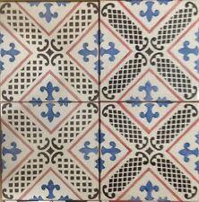 Vietri Piastrelle 20x20 Decorate a Mano in Cotto Artigianale spessore 14 mm.