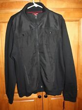 Alfani Red Men's Jacket XL XLarge Extra-Large Black Slim Fit Cotton #15205 NWT