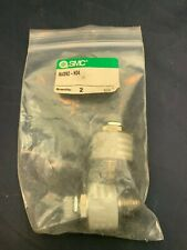 Lot Of 2 Smc Nasn2 N04 Metering Valve With Silencer New