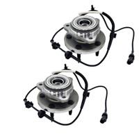 2 Front Wheel Hub fits Ford Explorer Ranger Mercury Mountaineer Mazda 4WD