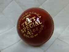 Grade A Test Special Cricket Ball Fsc Match Ball 4 3/4 Oz Solid Hide New