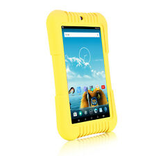 """iRULU 7"""" Android 5.1 Lollipop Quad Core BadyPad 16GB Learning Tablet PC Yellow"""