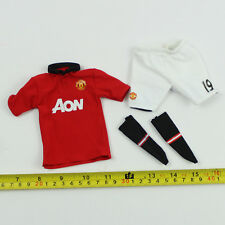 TE10-05 1/6th Scale ZCWO Manchester United No.19 Red Jersey Set