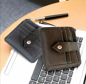 Slim Card Holders Wallet for Men and Women with ID Window &  Notes Compartment