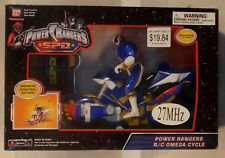 Power Rangers S.P.D. - Radio Control R/C SPD Cycle With Omega Ranger (MISB)